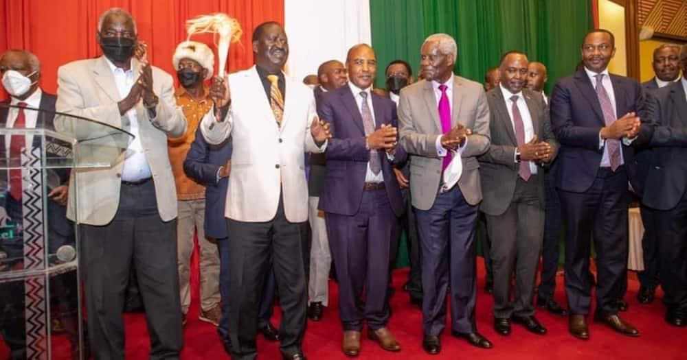 Mt Kenya Foundation members control politics behind the scenes.