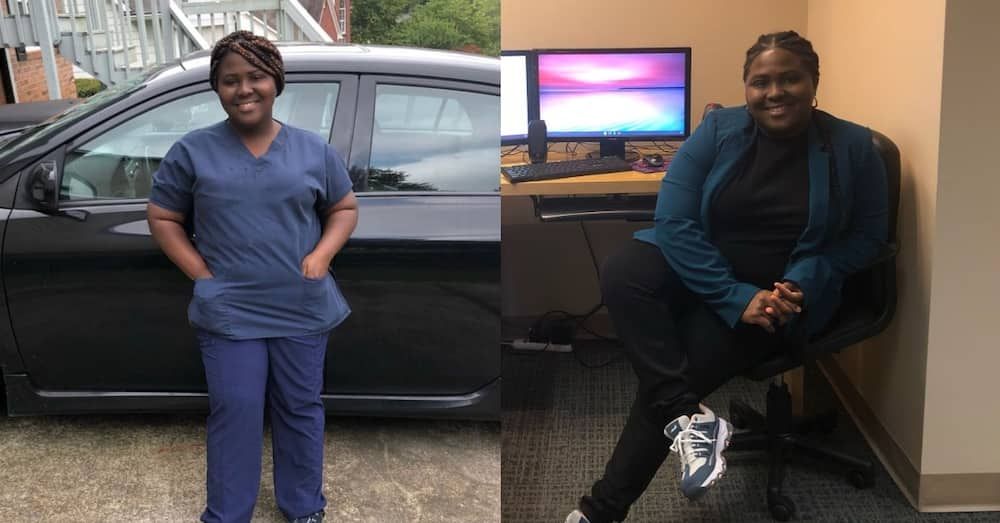 Benedicta Tetteh: Ghanaian lady working as cleaner in US rises to become HR Assistant