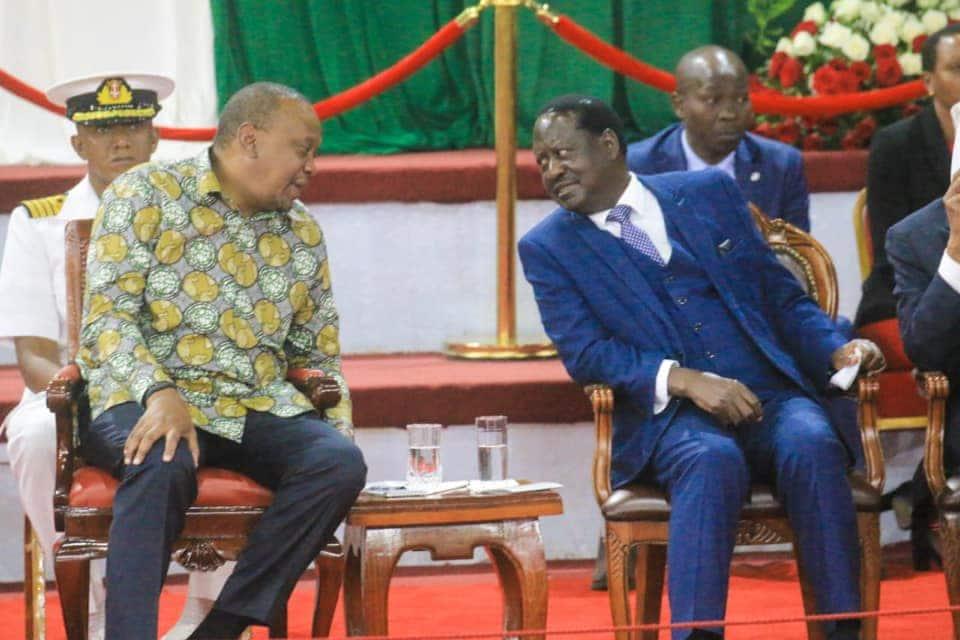 Raila ampongeza Uhuru kwa kusaidia kuondoa utata kuhusu ugavi wa fedha