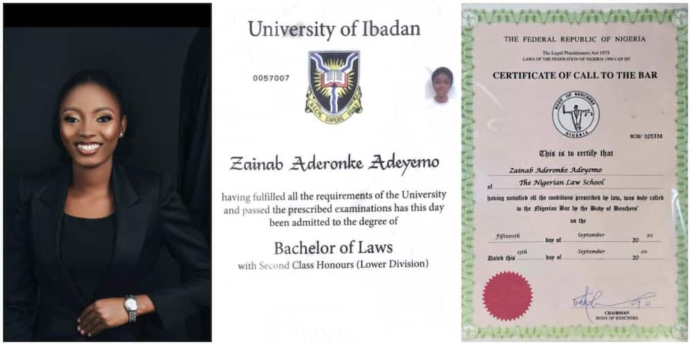 Reactions as desperate female law graduate begs for job on social media, shares her academic qualifications