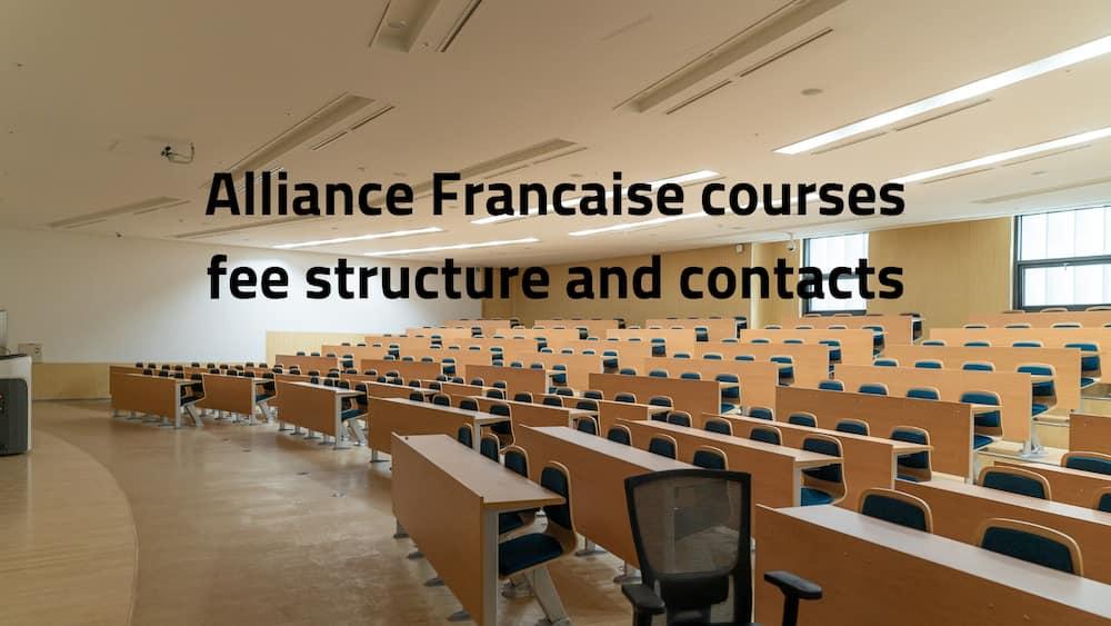 Alliance Francaise courses
