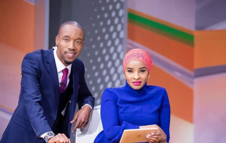 Lulu Hassan and Rashid Abdallah