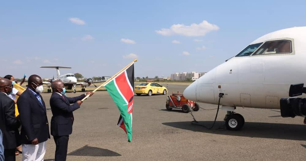 KAA flags off East African Safari Air Express for resumption of domestic flights