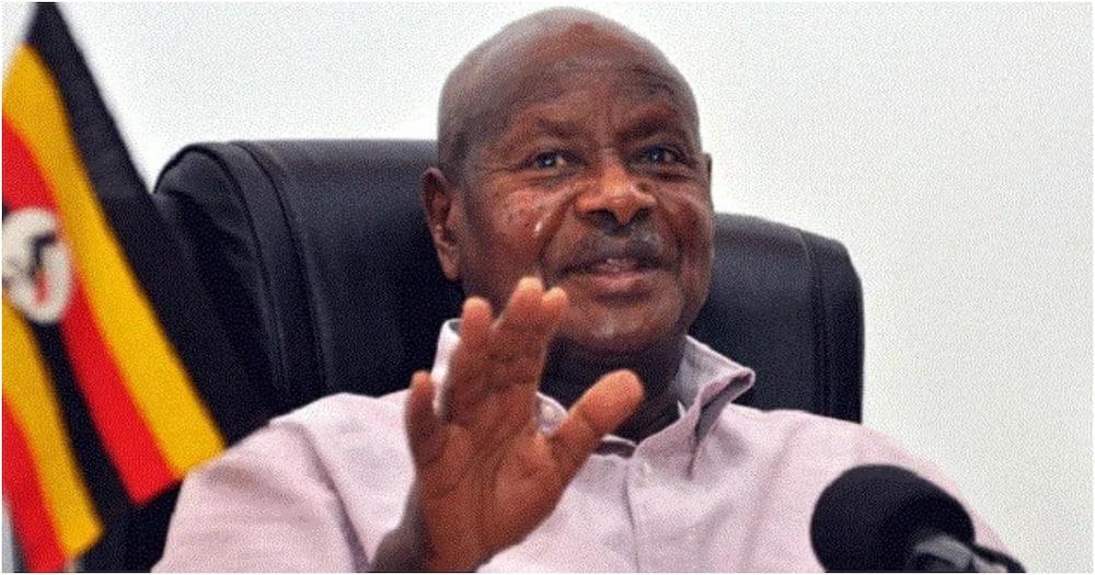 Yoweri Museveni says Ugandans' health conditions cannot allow them give way for coronavirus