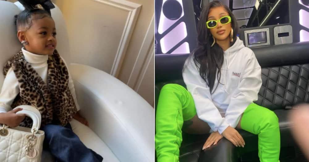 Spoilt rotten: Cardi B takes daughter on lit shopping spree, spends R420k