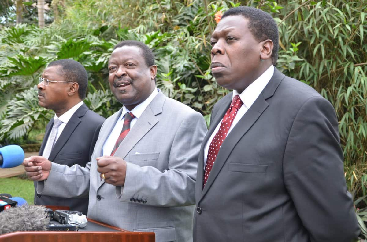 Western Kenya leaders insist they will only negotiate with Uhuru, Raila for the presidency