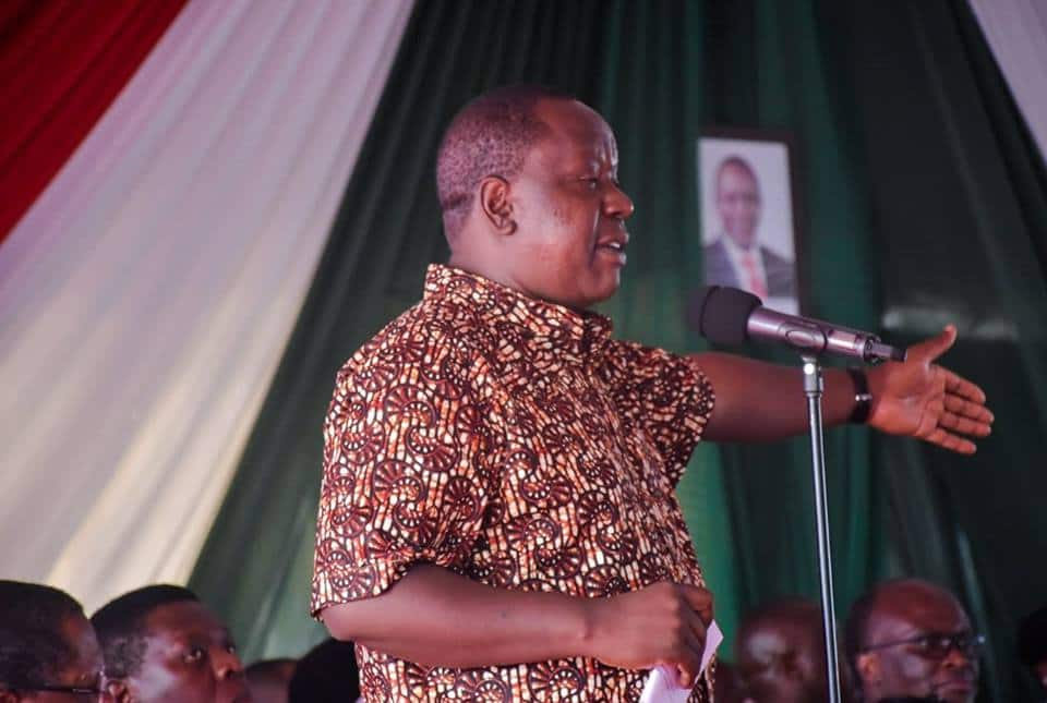 Matiang'i confronts Nairobi police boss Ole Tito unsigned visitors' book