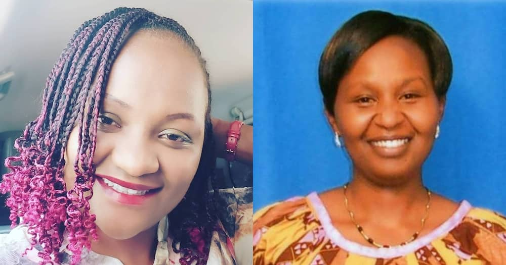 Nyambura Nganga (l) and Triza Njoki had to deal with open wounds after breastmilk turned to pus.