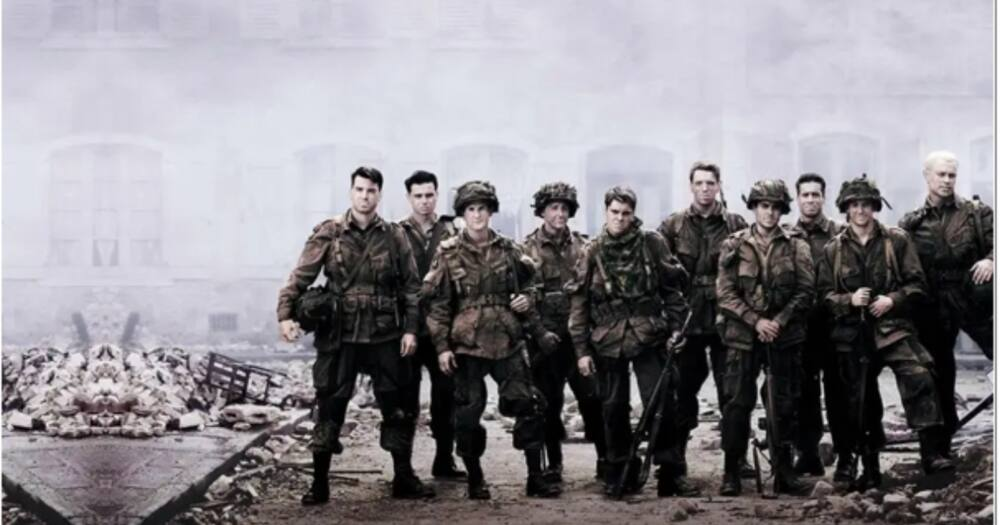 Band of Brothers is a landmark miniseries produced by Tom Hanks and Steven Spielberg. Photo: Showmax.