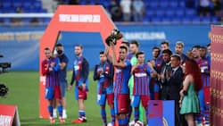 Barcelona beat Cristiano-led Juventus to win first-ever trophy after Lionel Messi's departure