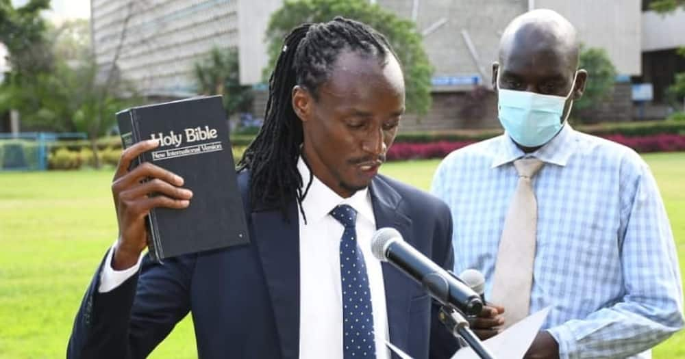 Eddie Mwenda: Vibrant Law student wins UNSA chair in first-ever online election