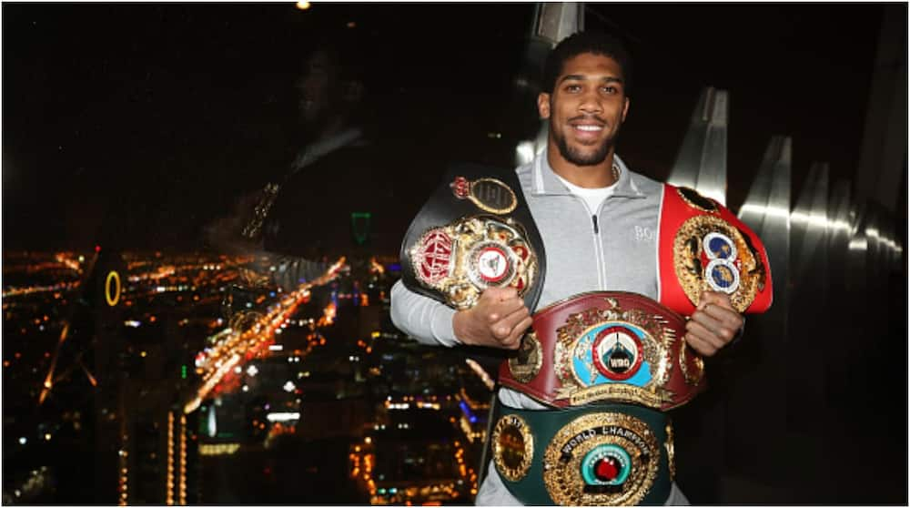 Anthony Joshua's dreams of becoming Premier League star were dashed by partying