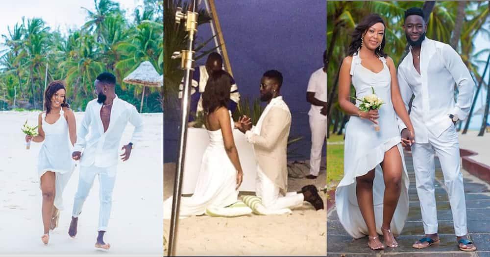 Maria hunk Khula Budi aka Trevor excitedly asks for marriage advice weeks after wedding