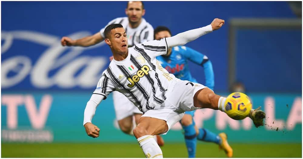 Cristiano Ronaldo becomes greatest goalscorer in football history after goal in Supercoppa Italiana
