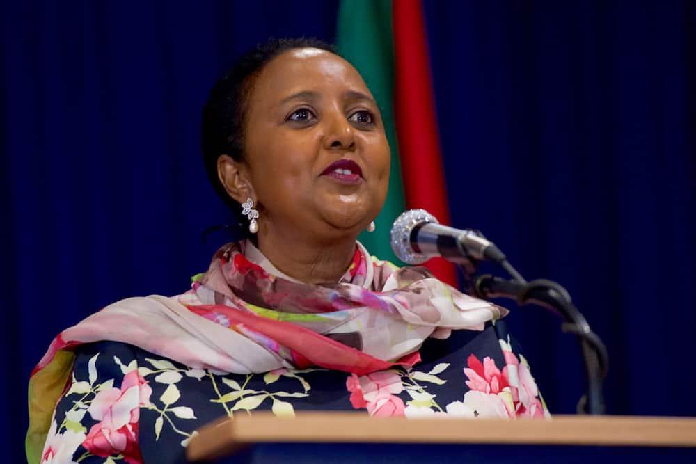 Amina Mohammed.