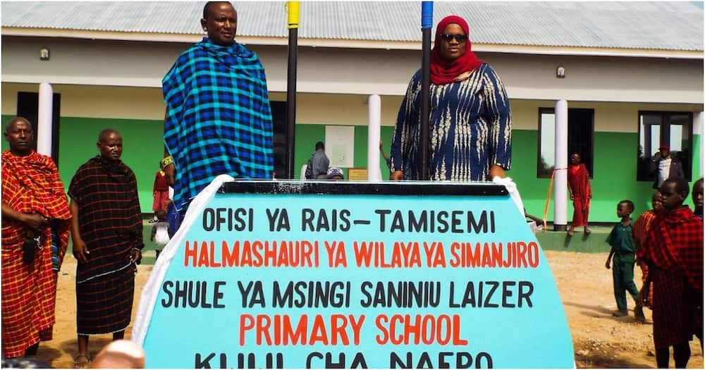 Miner who become millionaire after selling Tanzanite builds multi-million school for his community