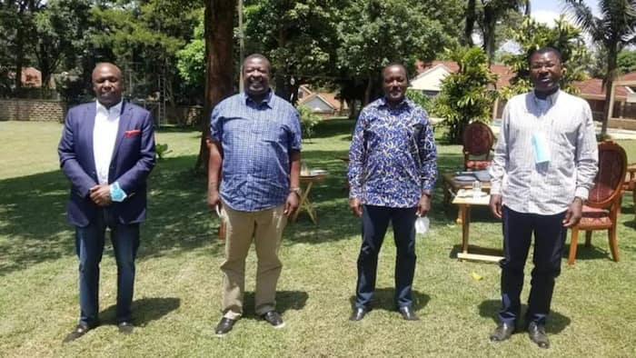 Kalonzo, Mudavadi, Wetang'ula and Gideon Moi Fight Over Who'll Be OKA's Presidential Candidate