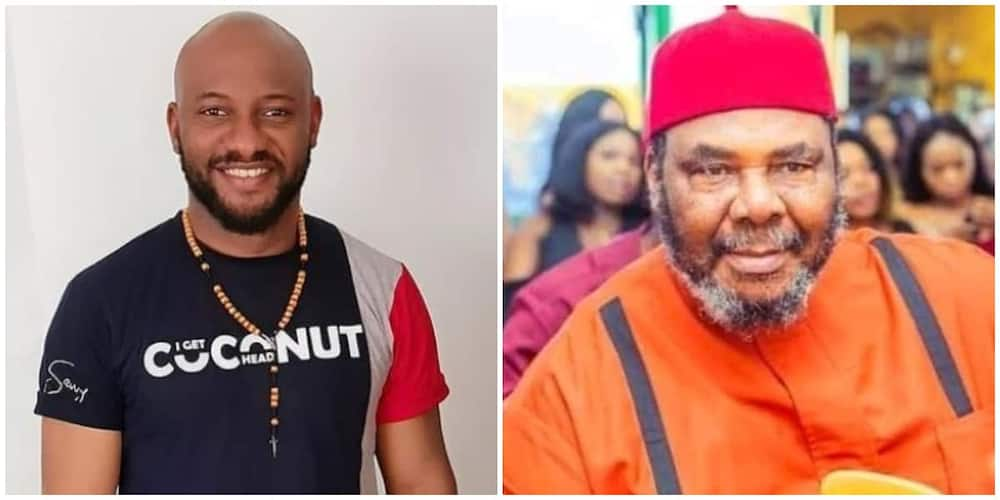 Actor Yul Edochie pens down heartfelt appreciation post to father and Nollywood veteran Pete Edochie