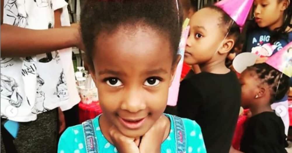 """Wahu Kagwi celebrates daughter Nyakio's 7th birthday: """"My little ray of sunshine"""""""