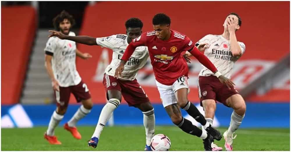 Man United vs Arsenal: Aubameyang slots home as Gunners win 1-0 at Old Trafford