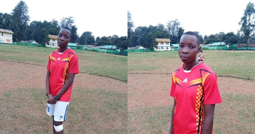 Carren Wanjiku is ruling the world of football in Kitale.