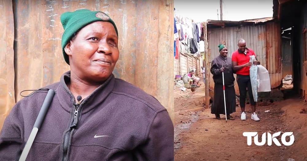 Alice spoke to TUKO TV's Kevin Momanyi on her struggles with blindness.