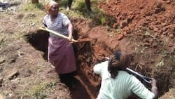 Nyandarua Women Who Dug Grave Say Local Men Were Too Old, Frail to Help Out