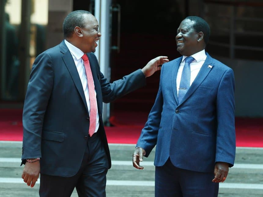 Maseneta wapuuza Raila na Rais Uhuru, wapinga mswada wa ugavi mapato