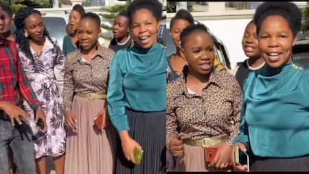 Tanzanian Gospel Choir Zabron Singers Perfectly Sing Kikuyu Rendition of Mkono Wa Bwana