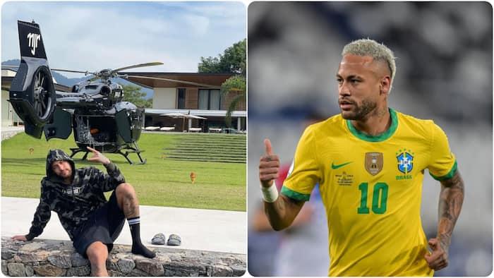 Neymar Flaunts KSh 1.8 Billion-Worth Private Helicopter During Summer Break