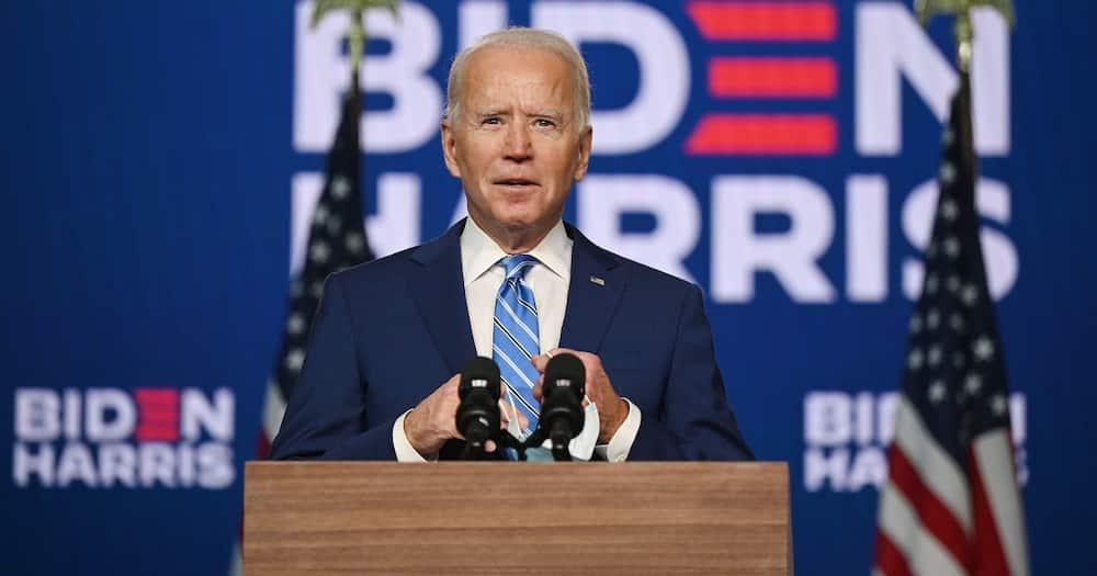 The United States President-elect Joe Biden in a past address. Photo: Joe Biden