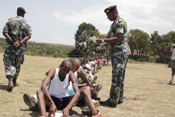 Police arrest 4 over fake academic certificates during KDF recruitment in Bomet county