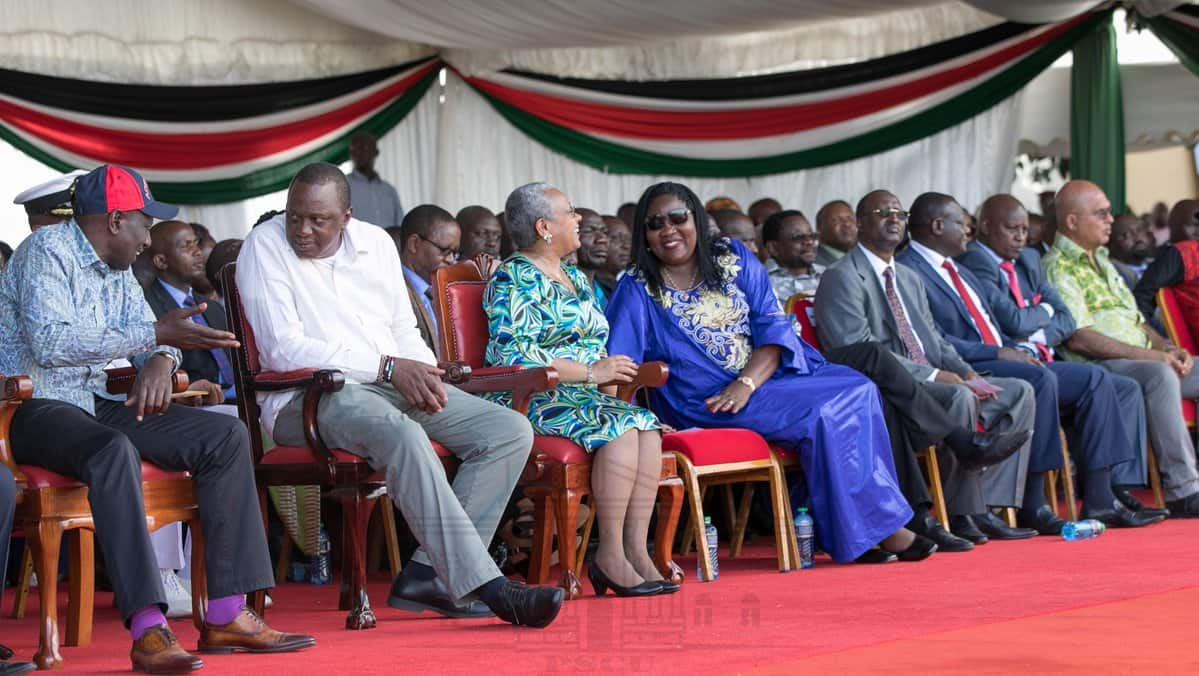 Winner takes all after elections is hurting our country - Uhuru Kenyatta