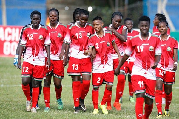Harambee Starlets nominated for Womens team of the year hours after whitewashing Burundi 5-0