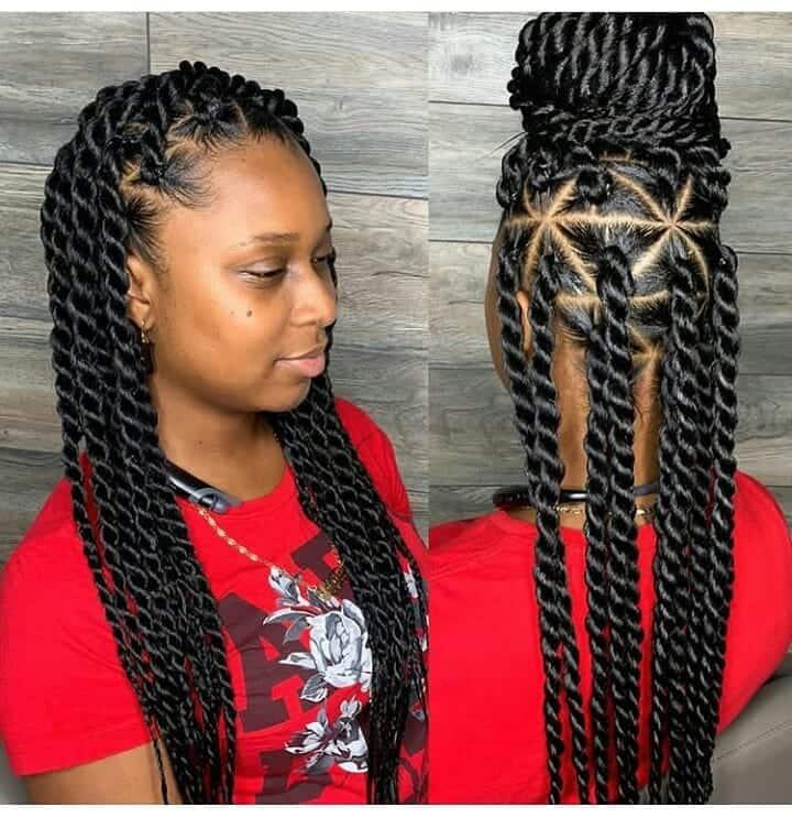 Kenyan hairstyles braids