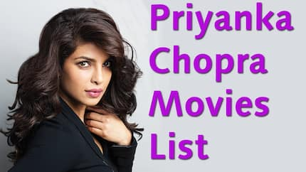 The best Priyanka Chopra movies you will love watching
