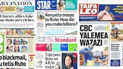 Magazeti Jumanne, Septemba 7: Tuju Amsukuma Ruto Kwenye Rada ya KRA