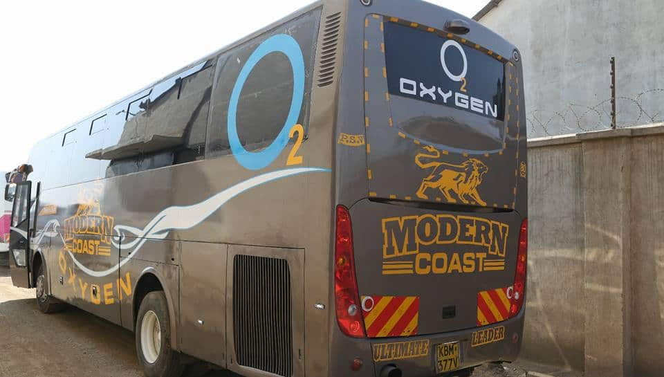 NTSA suspends Modern Coast Bus operating license after 2 buses collided