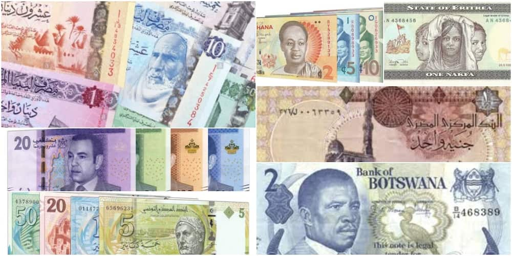Top 7 countries with the most valuable currencies in Africa 2021