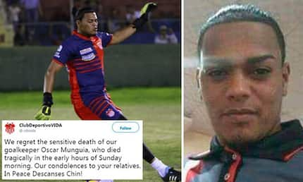 Honduras football plunged into mourning as hitman shoots dead football star during night out