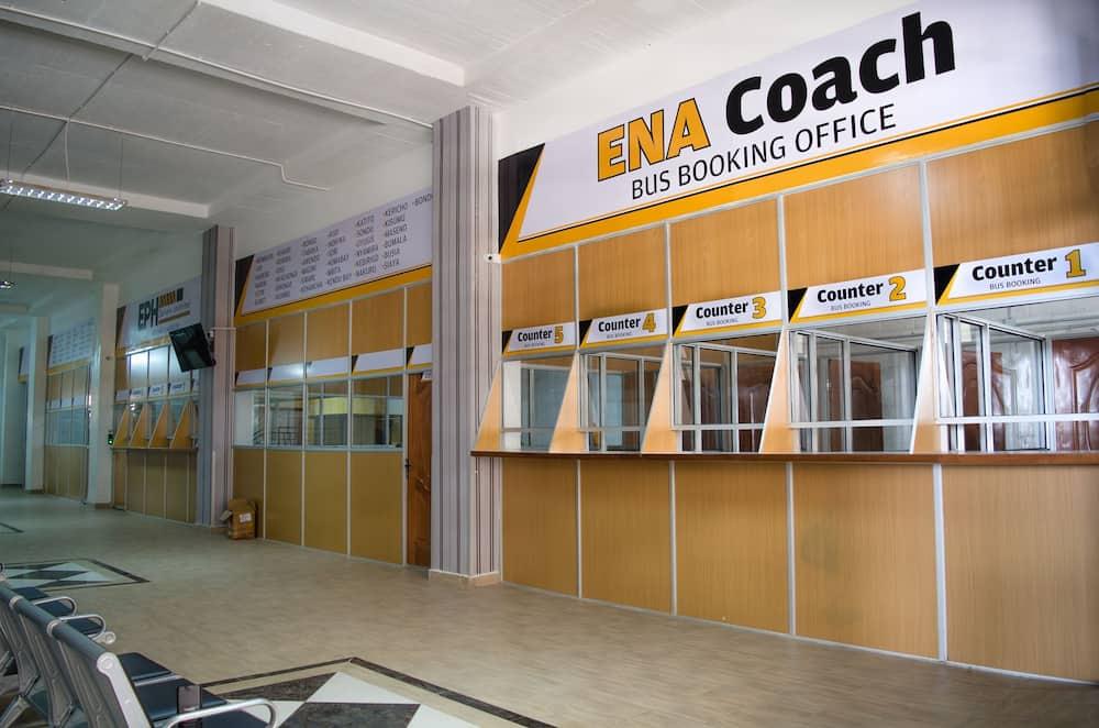 ENA Coach online booking