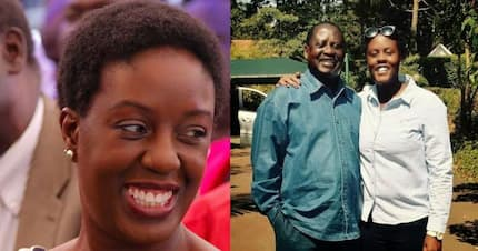 My sudden blindness was tough on my children, they had to undergo counselling - Raila's daughter