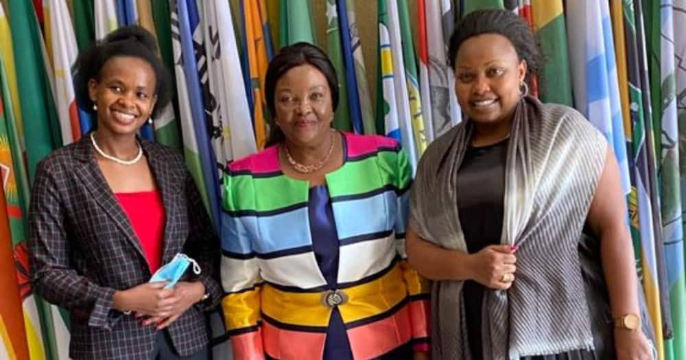 Millicent Omanga Puts Political Differences Aside, Welcomes Wiper's Agnes Kavindu to Senate