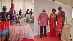 Senator Lelegwe weds lover in colourful Samburu-themed wedding