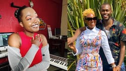 Nana Owiti Moved After Upcoming Singer Composes Powerful Song Praising Her Strength During Hubby's Illness
