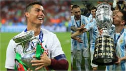 Ronaldo's Euro 2016 And Messi's Copa America Victories Compared, See Who Is the GOAT