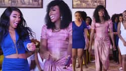 "Kenyans Give Mixed Reactions after Spotting Eric Omondi in Dress, Makeup: ""Anapenda Hizi Vitu"""