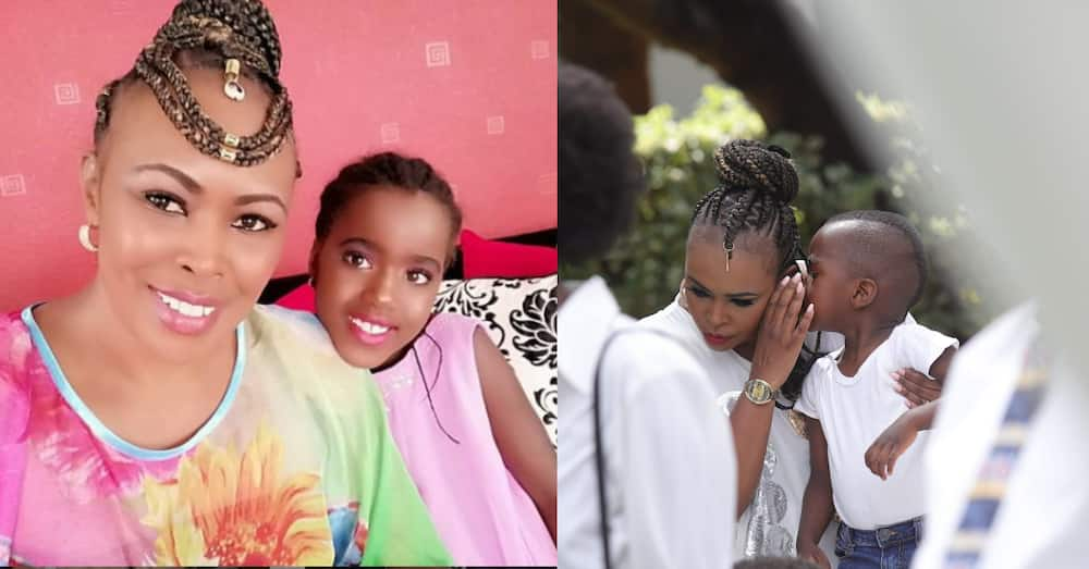 Caroline Mutoko spotted bonding with handsome son in cute photo