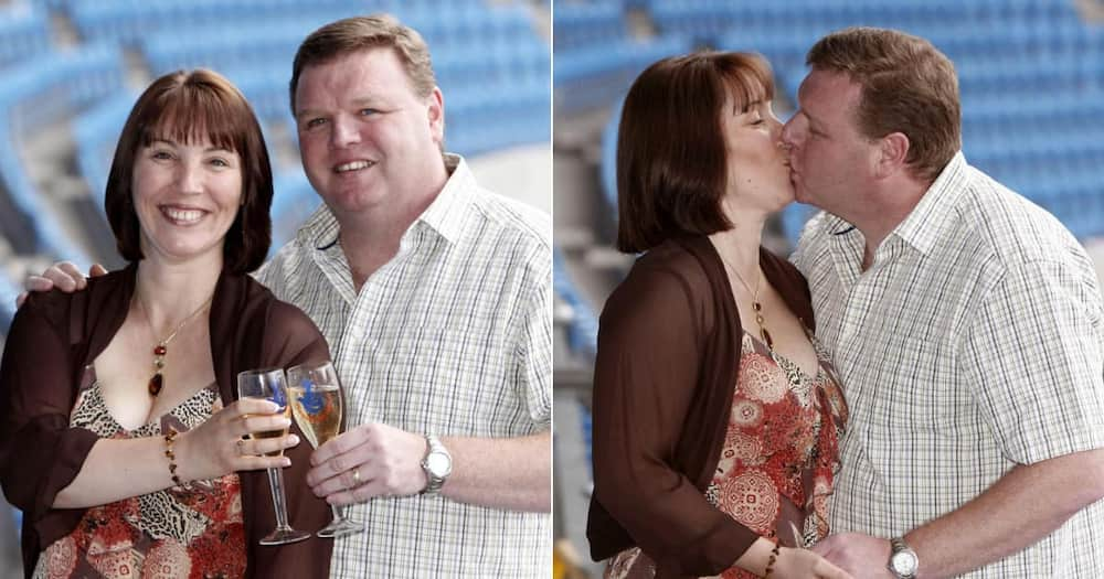Sharon and Nigel Mather, Couple, R255 million, share cash, loved ones