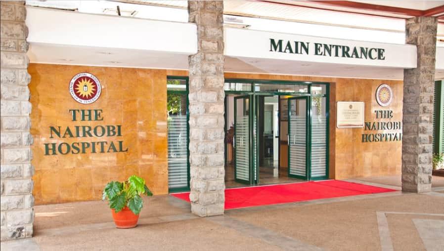 The Nairobi Hospital.